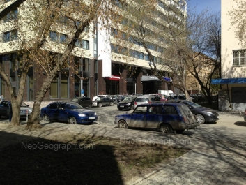 View to: Lenina avenue, 50Б (Континент, бизнес-центр); Lenina avenue, 50а. Yekaterinburg (Sverdlovskaya oblast)