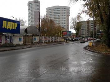 View to: Belinskogo street, 218 к1; Savvi Belikh street, 2. Yekaterinburg (Sverdlovskaya oblast)