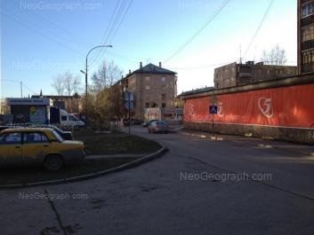 На фото видно: Бехтерева улица, 6; Боровая улица, 26; Боровая улица, 28. Екатеринбург (Свердловская область)