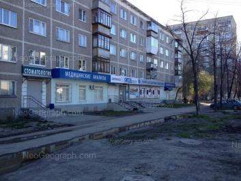 На фото видно: Волгоградская улица, 184; Волгоградская улица, 190. Екатеринбург (Свердловская область)
