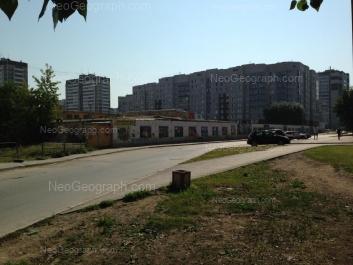 View to: Avangardnaya street, 13; Kalinina street, 6; Kalinina street, 22; Uralskikh Rabochikh street, 21. Yekaterinburg (Sverdlovskaya oblast)