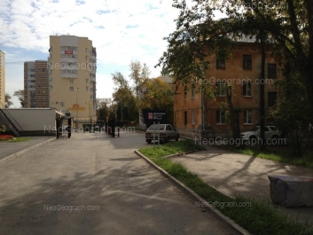 На фото видно: Чапаева улица, 64А; Чапаева улица, 66А; Щорса улица, 39. Екатеринбург (Свердловская область)