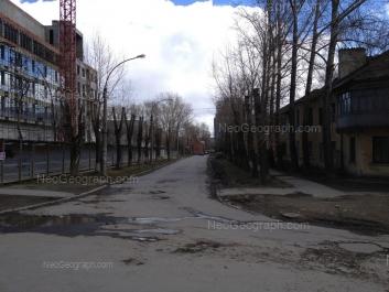 View to: Klubniy lane, 7; Vatutina street, 8. Yekaterinburg (Sverdlovskaya oblast)