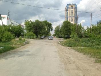 View to: Aivazovskogo street, 53; Tsiolkovskogo street, 27. Yekaterinburg (Sverdlovskaya oblast)