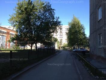 View to: Chkalova street, 131. Yekaterinburg (Sverdlovskaya oblast)