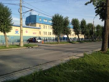 На фото видно: Космонавтов проспект, 13. Екатеринбург (Свердловская область)