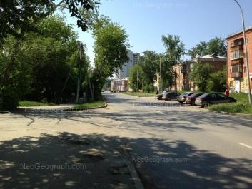 View to: Iulskaya street, 51; Uralskaya street, 57; Uchiteley street, 1; Uchiteley street, 3; Uchiteley street, 5; Uchiteley street, 7. Yekaterinburg (Sverdlovskaya oblast)