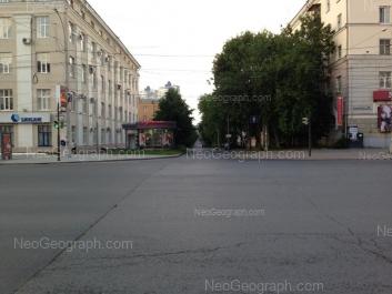 View to: Sverdlova street, 11; Sverdlova street, 11А. Yekaterinburg (Sverdlovskaya oblast)