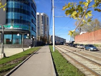На фото видно: Радищева улица, 55; Радищева улица, 61; Радищева улица, 63. Екатеринбург (Свердловская область)