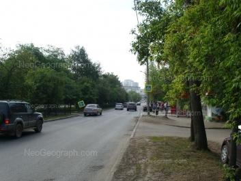 View to: Posadskaya street, 52. Yekaterinburg (Sverdlovskaya oblast)