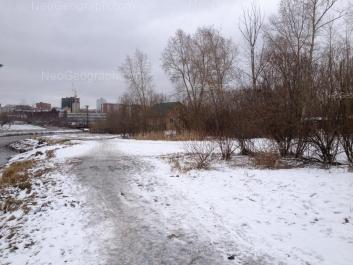 View to: Krilova street, 2В. Yekaterinburg (Sverdlovskaya oblast)