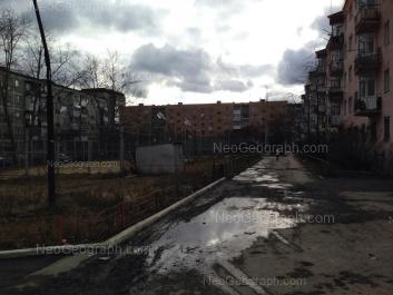 View to: Beloyarskaya street, 26; Beloyarskaya street, 36; Pribaltiyskaya street, 35. Yekaterinburg (Sverdlovskaya oblast)