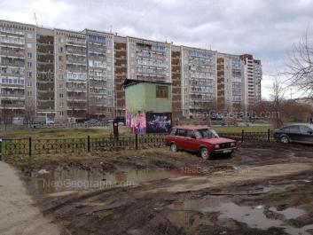 View to: Opalihinskaya street, 26. Yekaterinburg (Sverdlovskaya oblast)