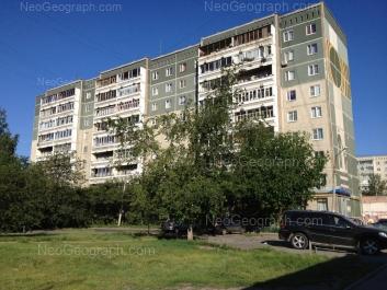 View to: Nachdiva Onufrieva street, 24/3. Yekaterinburg (Sverdlovskaya oblast)