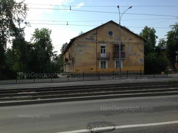 На фото видно: Калинина улица, 74. Екатеринбург (Свердловская область)