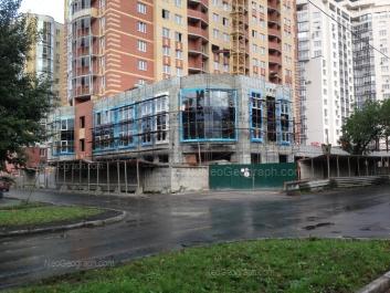 На фото видно: Ключевская улица, 15; Мельникова улица, 38 (Аристократ, жилой дом). Екатеринбург (Свердловская область)