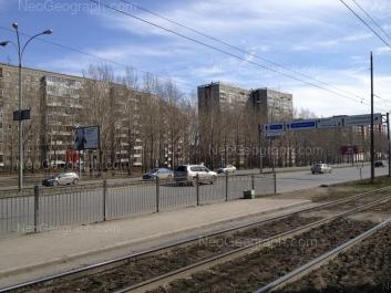 На фото видно: Бебеля улица, 138; Бебеля улица, 146; Бебеля улица, 148. Екатеринбург (Свердловская область)