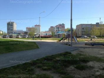 View to: Angarskaya street, 50; Angarskaya street, 50а; Bilimbaevskaya street, 26; Bilimbaevskaya street, 28. Yekaterinburg (Sverdlovskaya oblast)