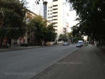 На фото видно: Мамина-Сибиряка улица, 97; Шарташская улица, 1; Шарташская улица, 4. Екатеринбург (Свердловская область)
