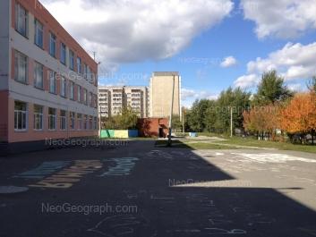 View to: Kommunisticheskaya street, 53 (Школа №178); Lomonosova street, 44. Yekaterinburg (Sverdlovskaya oblast)