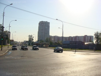 View to: Furmanova street, 125; Furmanova street, 127. Yekaterinburg (Sverdlovskaya oblast)