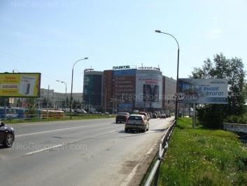 View to: Vostochnaya street, 51. Yekaterinburg (Sverdlovskaya oblast)