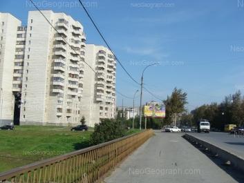 View to: Vikulova street, 48. Yekaterinburg (Sverdlovskaya oblast)