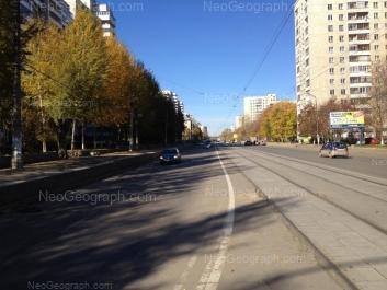 На фото видно: Победы улица, 24; Победы улица, 31. Екатеринбург (Свердловская область)