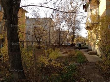 View to: Ispitateley street, 10; Ispitateley street, 11; Ispitateley street, 12А; Ispitateley street, 16. Yekaterinburg (Sverdlovskaya oblast)