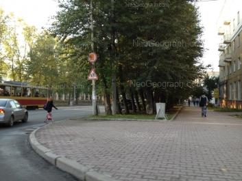 На фото видно: Гагарина улица, 12. Екатеринбург (Свердловская область)