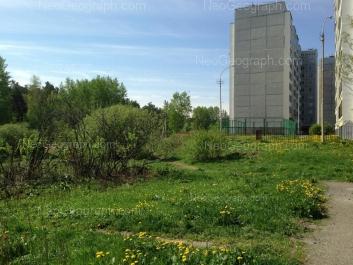 View to: Bisertskaya street, 16 к4. Yekaterinburg (Sverdlovskaya oblast)