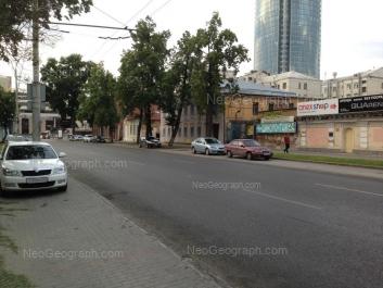 View to: Rozi Luksemburg street, 3. Yekaterinburg (Sverdlovskaya oblast)