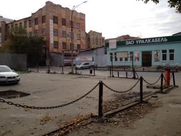 View to: Melnikova street, 2/1; Nagornaya street, 12. Yekaterinburg (Sverdlovskaya oblast)