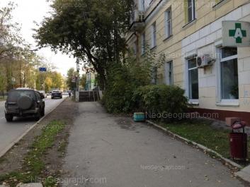 На фото видно: Грибоедова улица, 28; Грибоедова улица, 29; Инженерная улица, 38. Екатеринбург (Свердловская область)