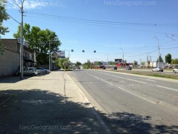 View to: Donbasskaya street, 58. Yekaterinburg (Sverdlovskaya oblast)
