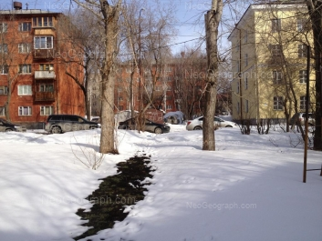 На фото видно: Технологическая улица, 3; Технологическая улица, 3А; Технологическая улица, 5. Екатеринбург (Свердловская область)