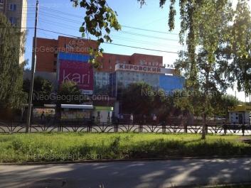 View to: Akademika Bardina street, 12. Yekaterinburg (Sverdlovskaya oblast)