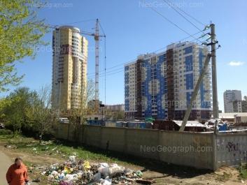 View to: Bilimbaevskaya street, 35; Druzhninskaya street, 5а. Yekaterinburg (Sverdlovskaya oblast)