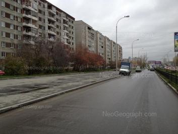 На фото видно: Машинная улица, 38; Машинная улица, 40; Машинная улица, 42/3. Екатеринбург (Свердловская область)