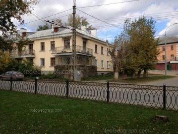 На фото видно: Газовый переулок, 1; Инженерная улица, 52. Екатеринбург (Свердловская область)