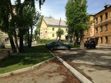 View to: Bebeliya street, 170; Bebeliya street, 176А; Bebeliya street, 176. Yekaterinburg (Sverdlovskaya oblast)