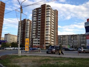 View to: Samotsvetniy boulevard, 5; Samotsvetniy boulevard, 6; Akademika Shvartsa street, 2 к2; Akademika Shvartsa street, 2 к3. Yekaterinburg (Sverdlovskaya oblast)