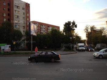 На фото видно: Уральская улица, 8; Уральская улица, 10. Екатеринбург (Свердловская область)