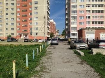 View to: Bisertskaya street, 29; Bisertskaya street, 32; Bisertskaya street, 34. Yekaterinburg (Sverdlovskaya oblast)
