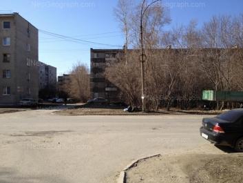 View to: Sedova avenue, 38; Sedova avenue, 38А; Nadezhdinskaya street, 21; Nadezhdinskaya street, 25. Yekaterinburg (Sverdlovskaya oblast)
