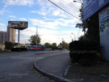 На фото видно: 8 Марта улица, 179В; Юлиуса Фучика улица, 1. Екатеринбург (Свердловская область)