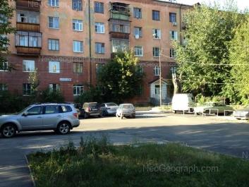 View to: Shartashskaya street, 23. Yekaterinburg (Sverdlovskaya oblast)