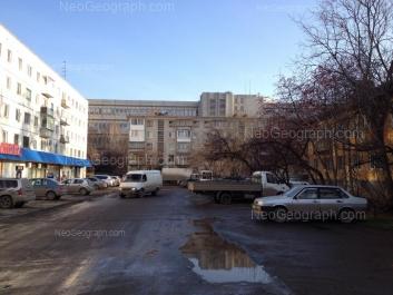 View to: Leningradskaya street, 31; Leningradskaya street, 40; Cherdinskaya street, 22. Yekaterinburg (Sverdlovskaya oblast)
