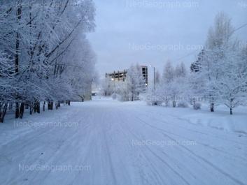 View to: Sibirskiy trakt street, 36 (ДК УГЛТУ). Yekaterinburg (Sverdlovskaya oblast)