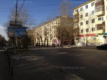 View to: Dekabristov street, 4; Dekabristov street, 6. Yekaterinburg (Sverdlovskaya oblast)